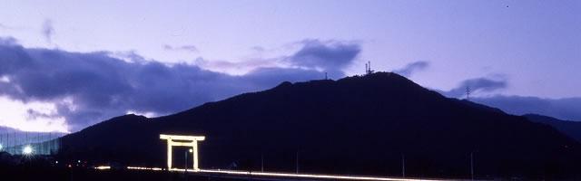 大鳥居 多度山 神社 三重県